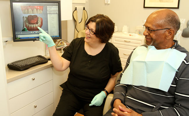 Our friendly, personable hygienists will take good care of your teeth and gums.